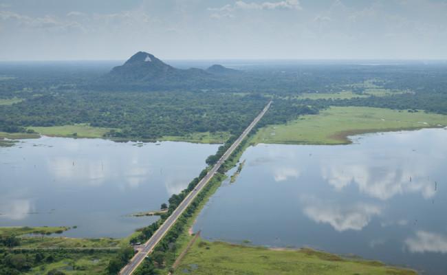 Anuradhapura Horowpatana Trincomalee road (A12)
