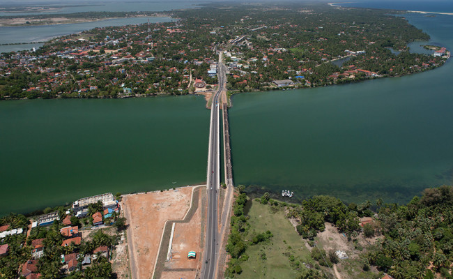 Kalladi Bridge, Batticaloa