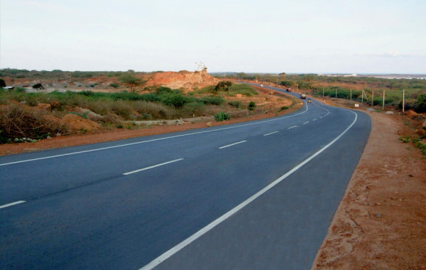 Hambantota Port Bypass Road
