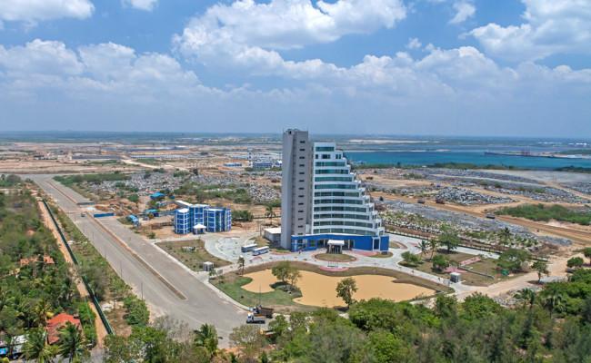 Port Building, Hambantota harbour