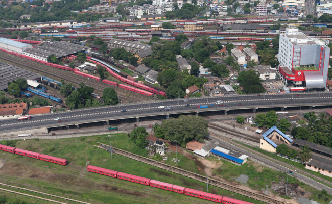 Baseline Road project, Rajagiriya